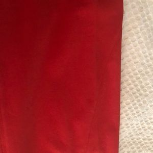 Ann Taylor Skirts - Orange/ red pencil skirt